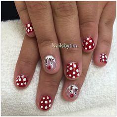 Merry Christmas nails design
