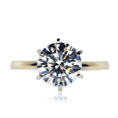 CARAT* - Diamond simulant solitaire engagement ring - $239.00 (0.75CT - 2CT)