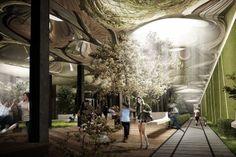 Kickstarting Urban Renewal With an Underground Park