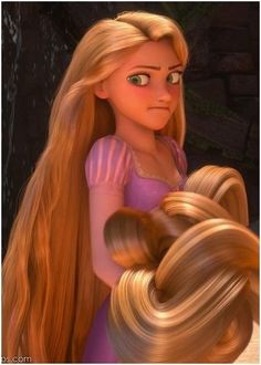 Rapunzel says like, pin and comment! LOL HER FACE IS PRICELESS xD
