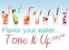 How do you like to flavor your water?