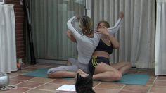 Парная йога 3 Ирина и Александра