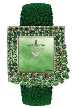 DiGROGOSONO |= Emerald Green Watch