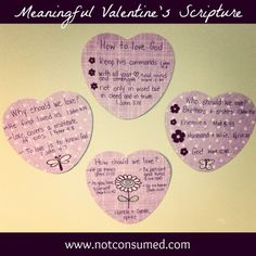 Meaningful valentine's scripture...great for any age valentine!