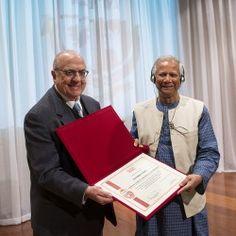 Prêmio Nobel da Paz, Muhammad Yunus, esteve na ESPM essa semana para o lançamento do ESPM Social Business Centre.