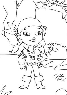 Izzy coloring page