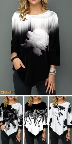 Buy trendy tops for women online with competitive price, ladies tops, cute women tops online store. Casual Dresses, Fashion Dresses, Fashion Top, Womens Fashion, Fashion Design, Blazer Fashion, Skirt Fashion, Fashion Clothes, Trendy Fashion