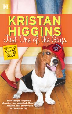 The original cover. To read an excerpt, visit http://www.kristanhiggins.com/KH-Just-One-of-the-Guys.html