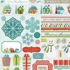 print & pattern: SCRAPBOOK Christmas