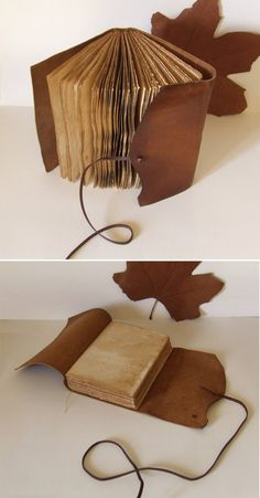 Rustic Leather Journal, antiqued brown leather, tea-stained pages. $50.00, via Etsy. #Christmas #thanksgiving #Holiday #quote