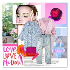 """""""Love me do"""" by undici ❤ liked on Polyvore featuring Marni, Hollister Co., Salvatore Ferragamo and BaubleBar"""