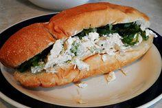 Ces temps ci....en cuisine: Sandwichs à la salade de poulet revisités