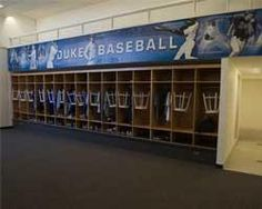 Duke Baseball Locker Room