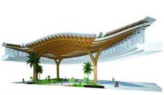 Timber Roof by Carpinteria Estruturas de Madeira - Brazil  https://arcowebarquivos.s3.amazonaws.com/imagens/37/38/arq_43738.jpg