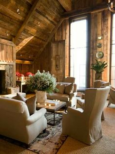 Country Look: Beautiful room.