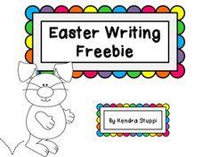 Easter Writing Freebie