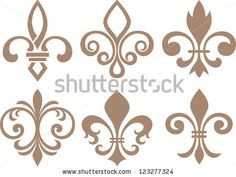 fleur de lys symbol by paul_june, via ShutterStock