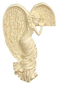 AngelStar 8-Inch and 1-Inch Left Corner Angel, Angels Watching