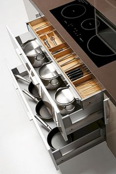 Most Brilliant Kitchen Storage Ideas (94 Photos) | Futurist Architecture