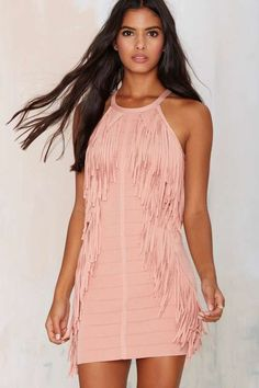 Bandit Fringe Dress
