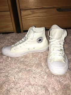 282673a72fb Converse All Star Hi Chuck Taylor II 2 Unisex Shoes LUNARLON WHITE  fashion   clothing  shoes  accessories  unisexclothingshoesaccs  unisexadultshoes  (ebay ...
