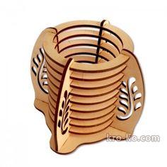 Купить оригинальный подарок деревянная подставка для ручек в магазине Kroko&woodi | Кроко
