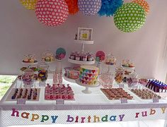 Show us your party - Ruby's love hearts & lollipops birthday