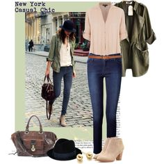 """New York Casual Chic."" by irishrose1 on Polyvore"