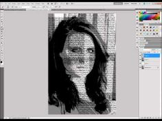 Photoshop Tutorial: Text Photo Effect
