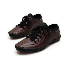 Men Casual Business Shoes Outdoor Comfortable Flats - Gchoic.com