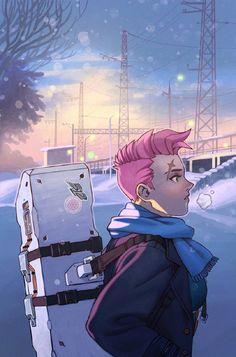 Overwatch - Zarya Manga
