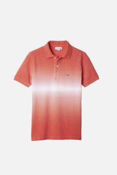 Lacoste Boy's Short Sleeve Bar Stripe Tie Dye Pique Polo : Boys Boy Shorts, Mens Tees, Lacoste, Men Dress, Sportswear, Casual Outfits, Men's Polo, Superfly, Mens Fashion