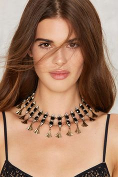 Teardrop It Low Jeweled Choker | Shop Accessories at Nasty Gal!