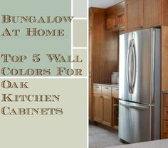 5 Top Wall Colors For Kitchens With Oak Cabinets :: Hometalk