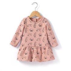 Vestido em moletão estampado  R baby - Bebé menina