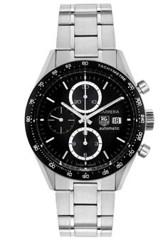 Price:$2753.00 #watches Tag Heuer CV2010.BA0794, The Tag Heuer makes a bold statement with its intricate detail and design, personifying a gallant structure. It's the fine art of making timepieces. Fine Watches, Cool Watches, Watches For Men, Men's Watches, Tag Heuer Carrera Chronograph, Watch Master, Men Accesories, Accessories, Automatic Watch