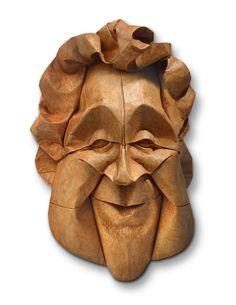 origami face
