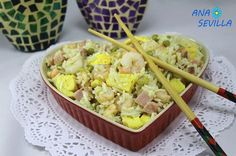 Arroz tres delicias en olla GM Ana Sevilla Gm Olla, Potato Salad, Macaroni And Cheese, Potatoes, Ethnic Recipes, Food, Delicious Magazine, Diet Ideas, Philippines