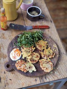 Cheese, Ham, Mushroom & Tomato Popovers   Egg Recipes   Jamie Oliver