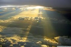 Image result for sun rays through clouds