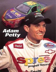 NASCAR 45 | 1999 Adam Petty 45 Spree Sponsor NASCAR Postcard Nascar Cars, Nascar Racing, Racing News, Drag Racing, Race Cars, Auto Racing, Kyle Petty, Richard Petty, King Richard