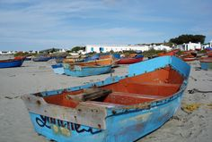 Fishermen's boats in Paternoster - West Coast - South Africa. Fruit Painting, Boat Painting, West Coast Fishing, Seaside Holidays, Old Boats, Cape Town South Africa, Photography Pics, Once In A Lifetime, Nature Scenes