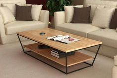 How To Quickly And Easily Create A Living Room Furniture Layout? Geometric Furniture, Modern Wood Furniture, Iron Furniture, Steel Furniture, Table Furniture, Furniture Design, Furniture Movers, Living Room Furniture Layout, Coffee Table Design