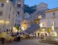 Anacapri: Capri, Italy, La Piazza One of my favorite places ever!