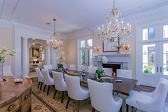 Elegance in dining-#GrandeBellezza – www.villagrandebellezza.com #luxuryrealestate #Luxuryhomes #BeverlyHills Twitter: @bellezzavilla FB: @grandbellezza Pin: g_bellezza