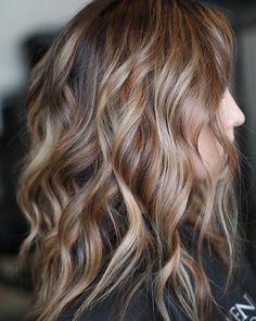 @jenlutey on Instagram: Pinterest worthy? ❤️ Good hair just makes life so much better. #hairbyjennalutey #primrosehair @palmergurl @prim.rose.marquette #balayageombre #balayage