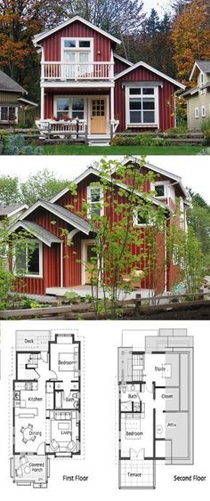 Ross Chapin Architects - Egret Cottage :: 1150 sq. ft.
