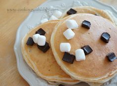 S'mores Pancakes: From Cooking With Libby