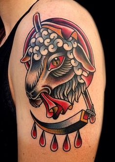 Phil Hatchet Yau lamb tattoo