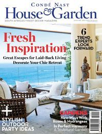 Conde Nast House & Garden January 2015 Magazine Issue presenting Awesome and stylish so get them fast. Living Room Interior, Home Living Room, Good House, Outdoor Parties, Luxury Decor, Cool House Designs, Beautiful Interiors, Contemporary Design, Interior Decorating